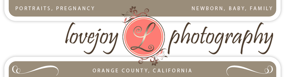 Lovejoy Photography, Orange County – Pregnancy, Baby, Family, Life logo